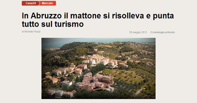 In Abruzzo il mattone si risolleva e punta tutto sul turismo